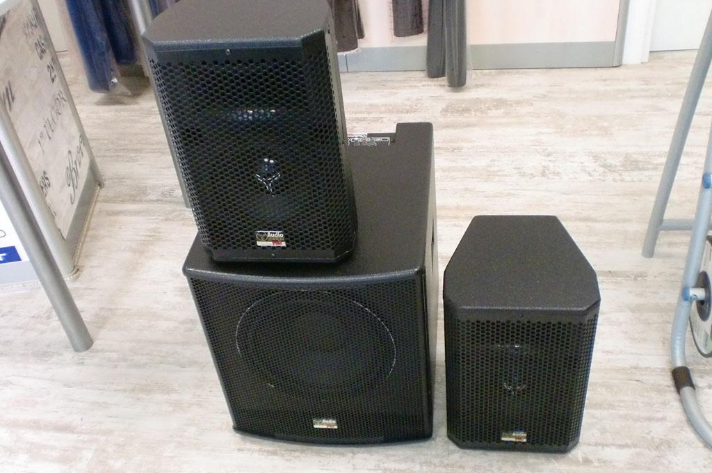 Da noi trovi le casse amplificate Audio Design