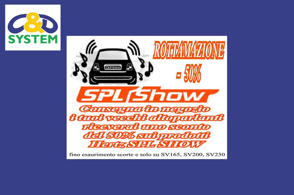 Rottamazione: -50% sugli altoparlanti Hertz SPL Show